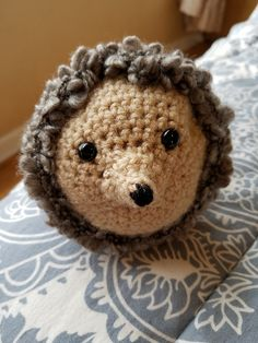 Hedgehog Buddy pattern by To Craft A Home