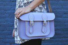 love this lavender cambridge satchel for spring