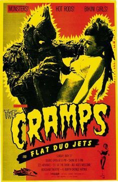 The Cramps - Poster