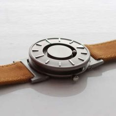 Innovative Tactile Watch Helps You 'Feel What Time it Is' [VIDEO]