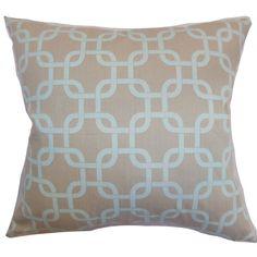 Brayden Studio Sessums Geometric Cotton Throw Pillow