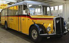 Saurer Museum, Arbon, Switzerland. Post Bus, Civil Aviation, Busses, Old Trucks, Public Transport, Couches, Motorhome, Vintage Cars, Planes