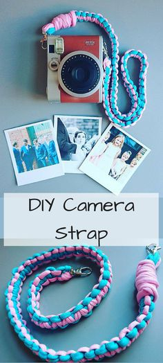 PDF pattern for a super cute macrame camera strap.  quick and easy project. affiliate link #macrame #diy