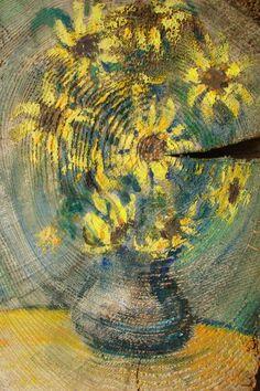 """""""Kwiatowe słoneczka"""" / """"Flower sunshine"""" 20x33 cm"""