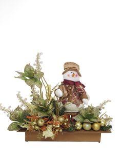 MUÑECO SNOW Todos nos divertimos en la navidad, diseño con muñeco de nieve, para ser colocado en cualquier espacio,colorido y hermoso. $ 140.000
