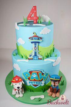 Paw Patrol Torte  Paw Patrol cake