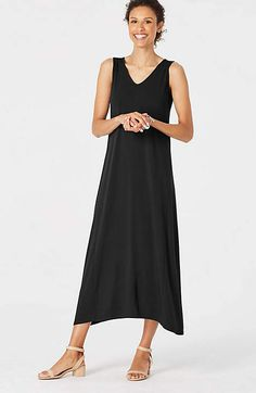 c89177a6db Image for Wearever Dipped-Hem Maxi Dress from JJill Putting Outfits  Together