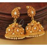 Lovely Designer Antique Pearl Mango Jhumkkas-dj04054
