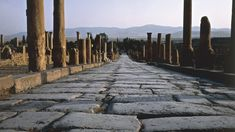 Why ROMAN ROADS were built straight