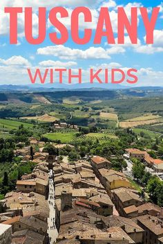 All about exploring Tuscany with kids including the best places to visit in Tuscany such as Florence, Siena, Pisa and Lucca as well as special kid attractions!  http://www.wheressharon.com/europe-with-kids/places-to-visit-in-tuscany/