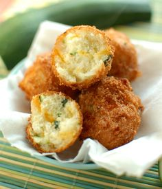 Zucchini Cheddar Hushpuppies