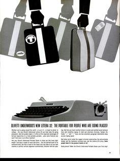 Olivetti Lettera 32 vintage ad *Typewriter Workshop*  http://www.etsy.com/shop/typewriterwshop