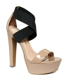 The platform is a bit high, but I love the nude and black