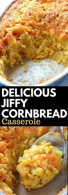 10 Delicious Dinner Recipes for Two! Steak Dinner Recipes, Dinner Casserole Recipes, Cornbread Casserole, Dinner Recipes Easy Quick, Delicious Dinner Recipes, Jiffy Cornbread, Quick Easy Meals, Jiffy Recipes, Meat Recipes