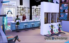 """from the lot """"Cube Studio"""" Fitness Room"""
