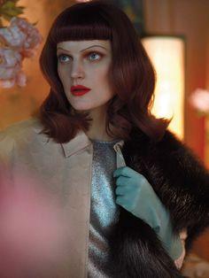 Guinevere Van Seenus by Javier Vallhonrat for Vogue UK April 2013 8