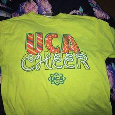 UCA cheer shirt Uca shirt Tops