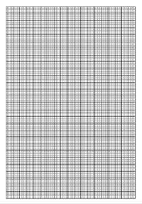 Feuille Vierge Pixel Art A Imprimer