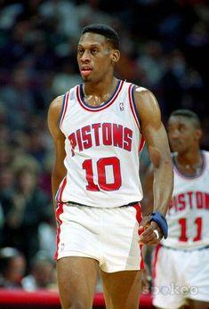 62c08e33c Dennis Rodman pre-body art  )  greatsportsmemes Detroit Basketball