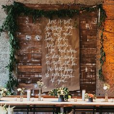 What a great team of people to be featured on @greenweddingshoes with yesterday! And that sign by @valewhale! @laceandlikes @sirenfloralco @luceloft  @amihoexperience @stevecowell_photo #luceloft by powwowdesignstudio