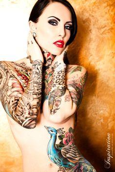 Makani Terror #tats #tattoos #ink #inked #sexy #girl #woman