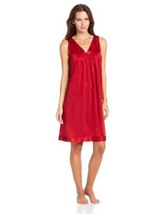 123dde16d9 Industries Needs — Vanity Fair Women s Colortura Short Gown  30107... Women s  Sleepwear