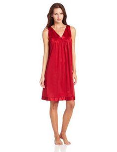 Industries Needs — Vanity Fair Women's Colortura Short Gown #30107...