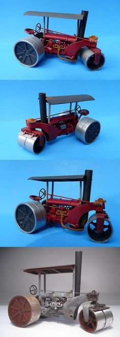 Other Narrow Gauge 9037: O On3 On30 Wiseman Model Services Fordson Powered Austin Pup Road Roller Kit -> BUY IT NOW ONLY: $69.95 on eBay!