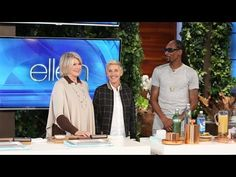The unlikely duo showed Ellen some of their favorite recipes before the debut of their new cooking show. This pair certainly knows how to keep things fresh!