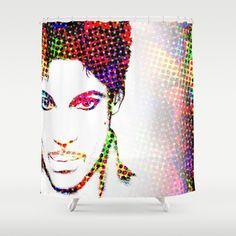 Shower Curtains Art Shower Curtain Bathroom Prince 2 Modern Home decor digital art L.Dumas by artbyLucie on Etsy