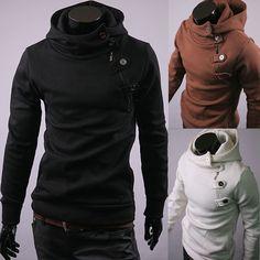 fashion men's casual thickening fleece hoody sweatshirts coats clothes