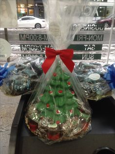 Holiday chocolate gift