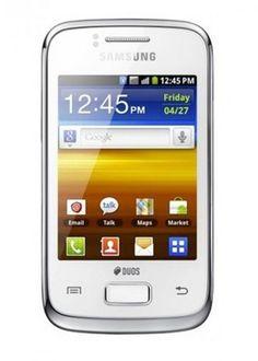 Samsung Galaxy Y Duos S6102-White on Shoplik.com