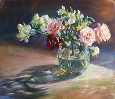 Radiance by Mary Aslin Pastel ~ 16 1/2 x 19 1/2
