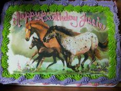 Jessie's Horse Birthday cake.