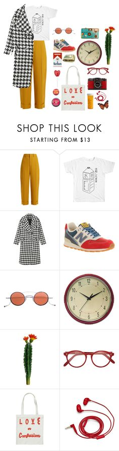 """""""fall"""" by argentates ❤ liked on Polyvore featuring Chloé, New Balance, Jacques Marie Mage, Geneva, Cutler and Gross, LØMO and FOSSIL"""