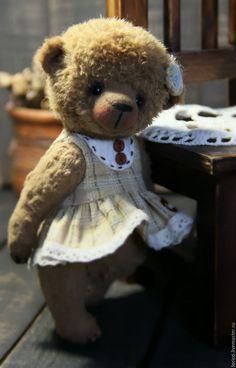 Teddy Bears handmade.  Sofochka .... Elena Korotkova.  Online Store Fair Masters.  Teddy Bear, Teddy Bear Girl