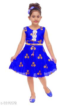 Checkout this latest Frocks & Dresses Product Name: * Elegant Girl's Frock* Sizes: 1-2 Years, 2-3 Years, 3-4 Years, 4-5 Years, 5-6 Years Easy Returns Available In Case Of Any Issue   Catalog Rating: ★4 (3602)  Catalog Name: Cuteness Elegant Girl'S Frocks Vol 1 CatalogID_458813 C62-SC1141 Code: 942-3316572-255