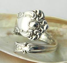 when i was a little girl, my mom gave my bf and i matching sterling silver spoon rings. i lost mine and haven't been able to find anything close to it....