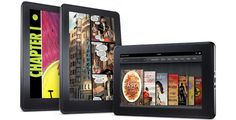 """Kindle Fire - Full Color 7"""" Multi-Touch Display with Wi-Fi - More than a Tablet"""