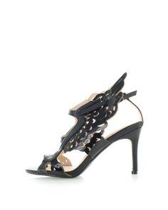 Čierne sandále Lambada