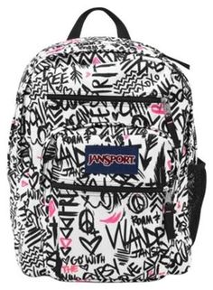 Jansport Backpacks For Girls | Big Student JanSport Zebra ...