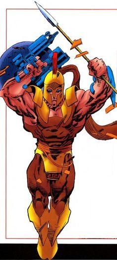 Richard Jones aka Thanatos (Earth-9309) All-New Official Handbook of the Marvel Universe Vol 1 11 °°