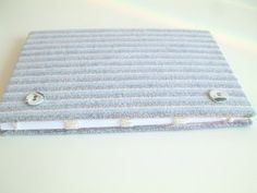 handmade book from recycled materials