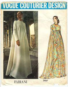 Vintage Fabiani Vogue Couturier Pattern 2537 by VirtualVintage