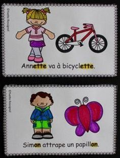 Learn French the Easy Way Kindergarten Language Arts, Kindergarten Literacy, Preschool Activities, Montessori Elementary, French Teaching Resources, Teaching French, Communication Orale, French Poems, French Lessons