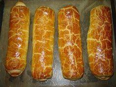 Úgy is mondhatnám, dödölle tutorial. Hungarian Desserts, Hungarian Recipes, Hungarian Food, Sweet And Salty, No Bake Cake, Hot Dog Buns, Sausage, Sweet Tooth, Deserts