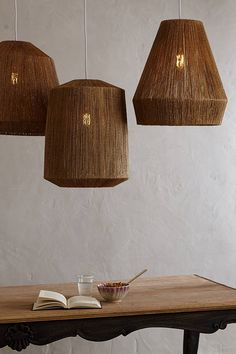 Top Directed Ceiling Pendant Lights: Le Lampe Gras, Unfold, Tom Dixon & 6 More — Maxwell's Daily Find Interior Lighting, Home Lighting, Lighting Design, Lighting Ideas, Table Lighting, Home Interior, Interior Decorating, Interior Design, Deco Luminaire