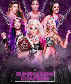 Women's ever Elimination Chamber match. ★ Alexa Bliss retained the Raw championship ★ Little MISS makes everything BLISS ★ reigning RAW Women's Champion since ★ Women's Champion SD and RAW) ★ Wrestling Superstars, Wrestling Divas, Women's Wrestling, Bailey Wwe, Wwe Ppv, Wwe Total Divas, Wwe Sasha Banks, Stephanie Mcmahon, Wwe Female Wrestlers