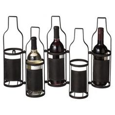 Showcase your favorite bottles or display the wine pairings for dinner with this beautiful design.